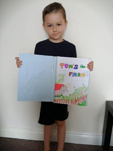Tomas and his AMAZING book!