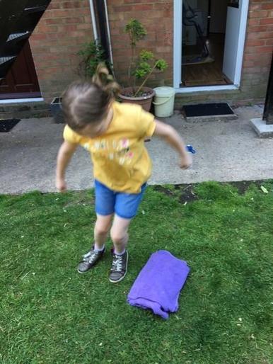 Luca's super speed bounce!