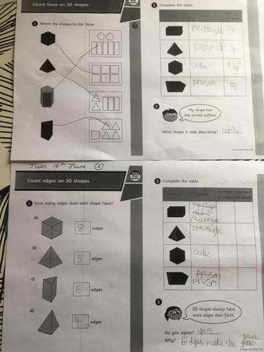 Josi's marvellous maths