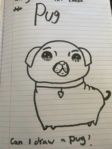 Destiny's brilliant drawing