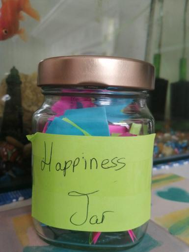 Lyra's happiness jar