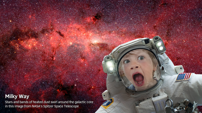 Willem's gone into space!