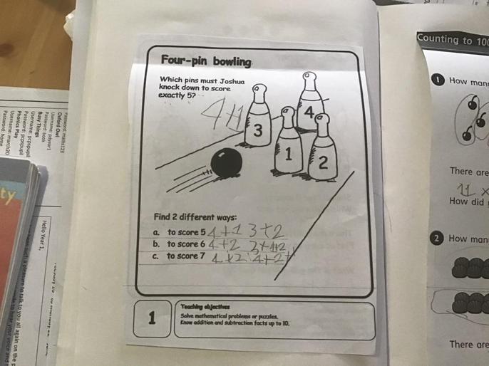 Giosue's super problem solving