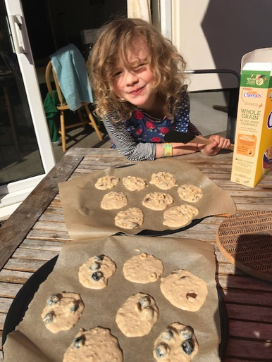 Thea's been busy baking!