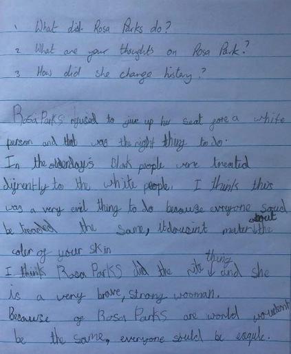 Eva's brilliant writing on Rosa Parks