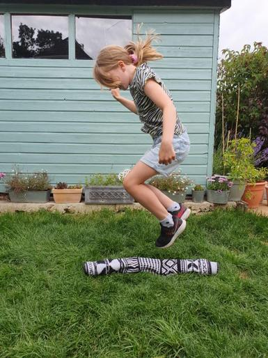 Eliza speed bouncing!