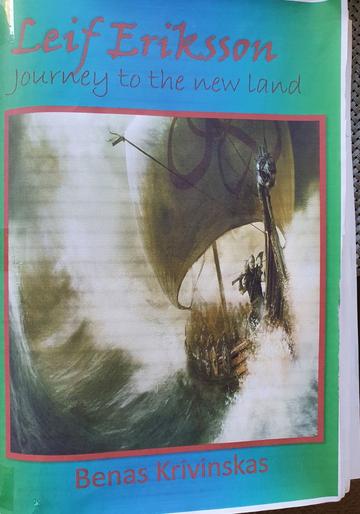 Benas has written his own brilliant Viking story!