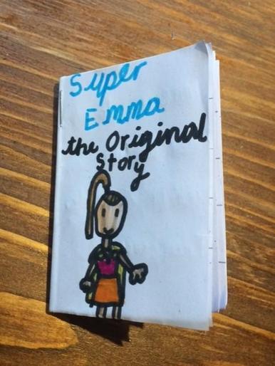 Emma's fantastic minature book! Super Emma!