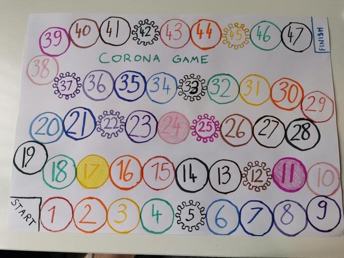 Maja K's 'Corona game'