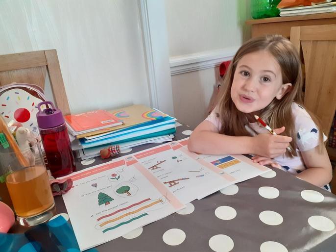 Bailey's marvellous maths! What a genius!