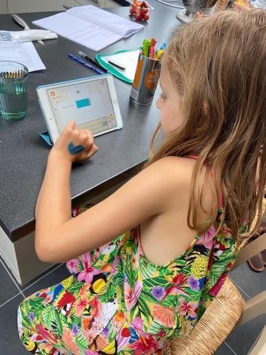 Olivia has been amazing on Doodle Maths!
