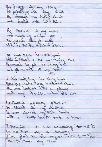 Felix's fantastic poem
