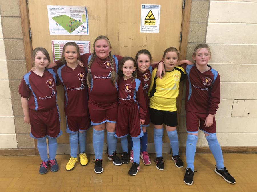 The Year Five/Six girls took part in our cluster football tournament on Thursday night. Playing three games, the girls lost the first two games; however came out victorious in their last game winning 1-0. Throughout the tournament the girls' performances improved every game. A big well done to all girls involved, you were fantastic!