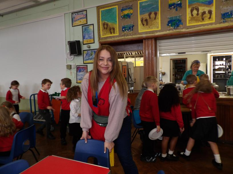 Miss E. Newstead (Lunchtime First Aider)