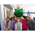 With the Devon Winter Games Mascot!