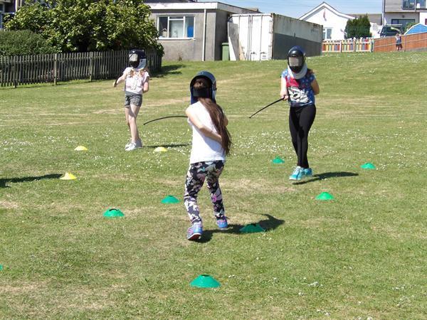 Sports Week Fencing
