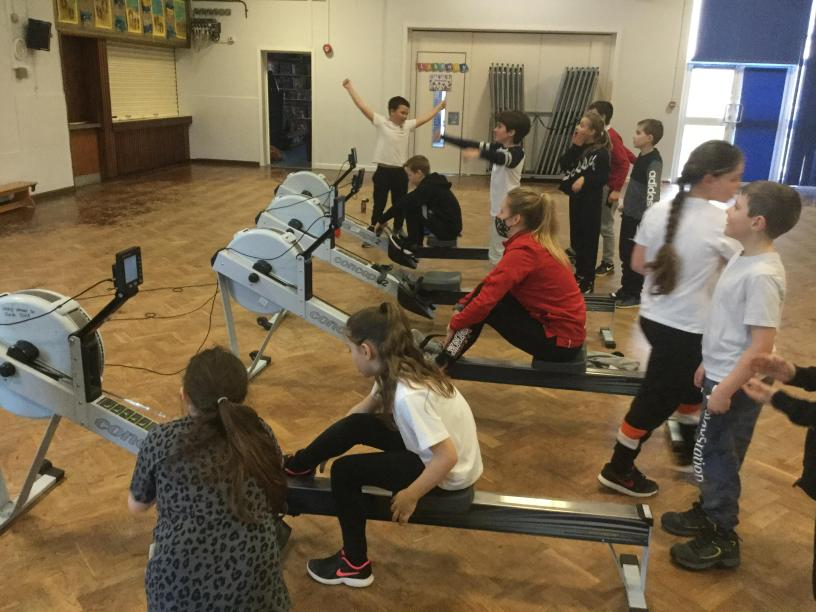 Year 5 Rowing 2021