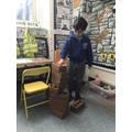 Building a house of bricks!