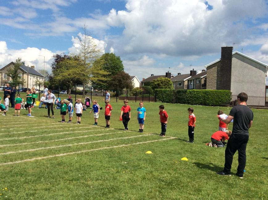 We all had a great time at Sports Day!