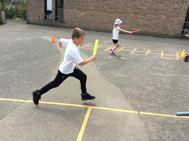 Baton relay fun!