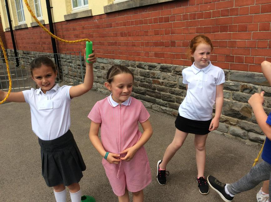 These girls love skipping