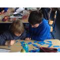 Exploring shape- Tangrams