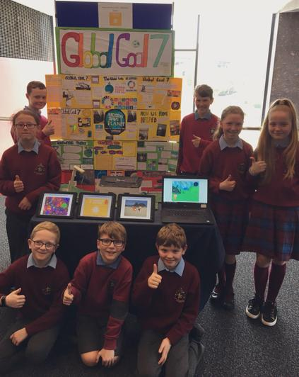 Our Scratch projects on Global Goal 7!