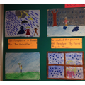 An artistic response to Les Parapluies by Renoir