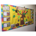 Our Autumn display board