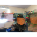 Autumn Scarecrows and 3D Witches