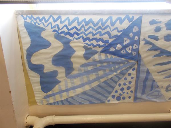 Year 6 Art Work 'Sea Themed'