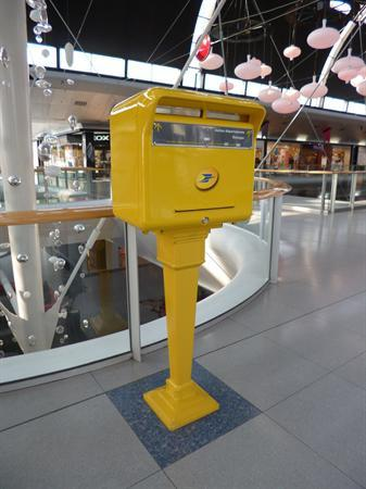 a French post box