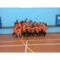 The Year 6 Indoor Athletics Squad.