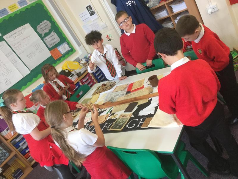 Exploring WW1 artifacts