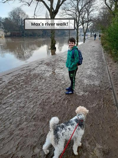 ...and here's Max!
