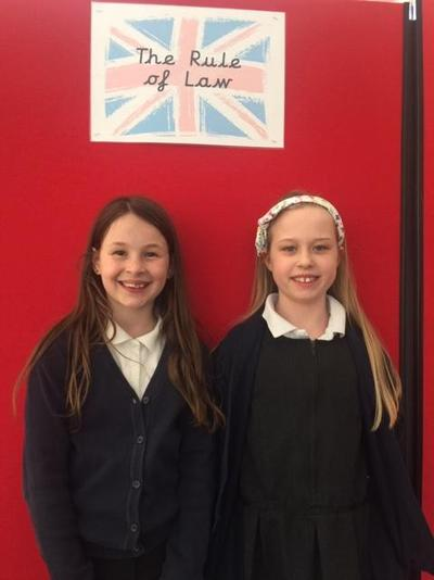 Year 4 Izzy and Sophie