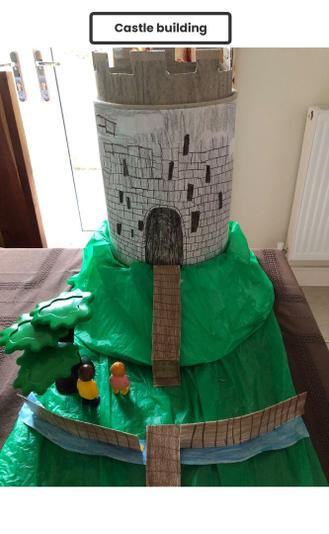 We also learned about Norman Castles and were inspired by Clifford's Tower