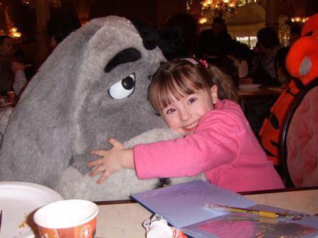 With Disney's Eeyore
