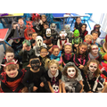 Our scary class - can you spot who is who?!