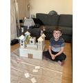 Isaac's junk model castle