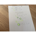 Number bonds using lego, Cassie, 1EW