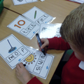 We learn to write letter and words