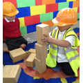 'Builders' exploring stacking and balancing