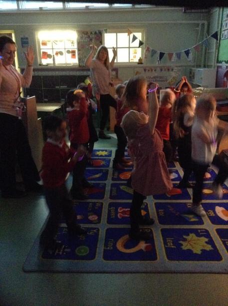 Diwali dancing