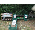 This is our mud kitchen
