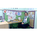 Our class office, where we practice reading and writing by writing cards, letters, notes
