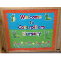 Caterpillars Room for children aged 2-3 years