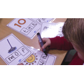 We learn to blend letters sounds to read and write