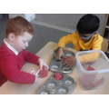 Developing physical skills to shape materials