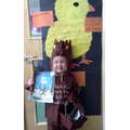 In book week we dressed as our favourite character
